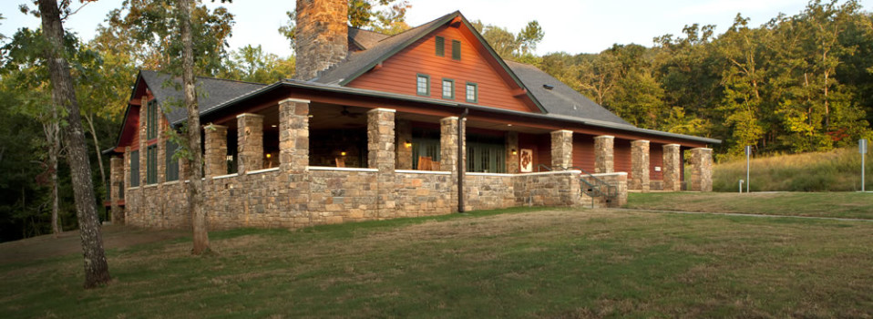 Lake Fort Smith State Park Dining Hall and Group Lodge